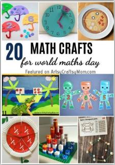 20 Math Crafts & Activities