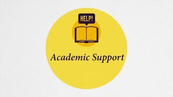 Apoyo académico los lunes, martes, y miércoles
