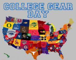 College Wear Day