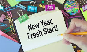 New Year - Fresh Start @BMHS Library