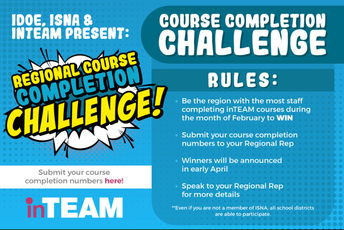 inTEAM Regional Course Completion Challenge