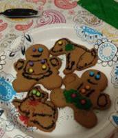 Kaiden's Gingerbread Cookies