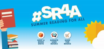 Cypress Book Drive to Benefit  Summer Reading For All (#SR4A)