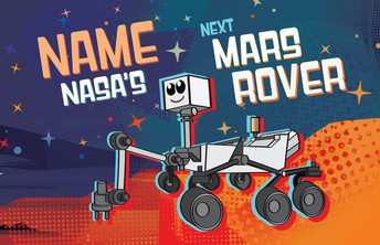 Students, You Could Name the Next Mars Rover!