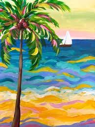 Beach Painting: