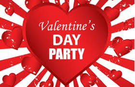 Valentine Parties will be Thursday, February 11th.