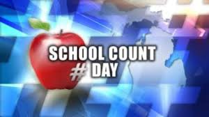 COUNT DAY, Wednesday,  October 2nd!!!