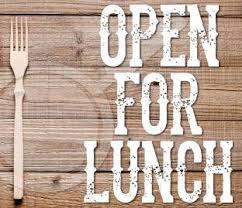 Lunches are now open!