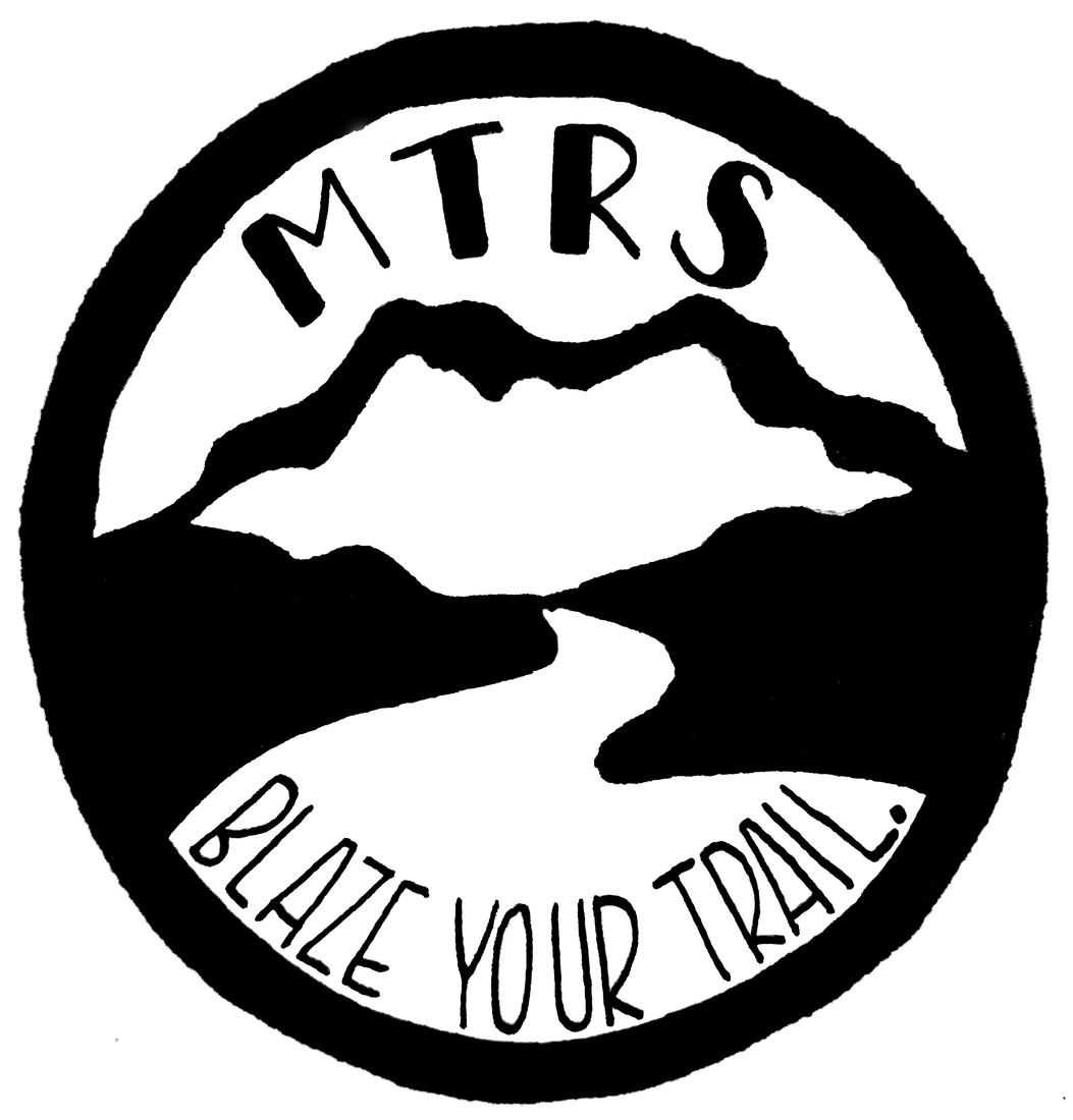 Blaze your trail logo