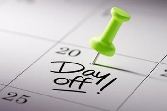 WEEK AHEAD>> 2:00 p.m. Dismissal