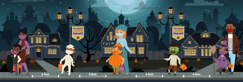 CDC Steps to A Safe Halloween