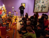 Museums, Murals and Sugar Skulls - Oh My! 8th Grade Spanish Students Hit the Road for Cultural Learning
