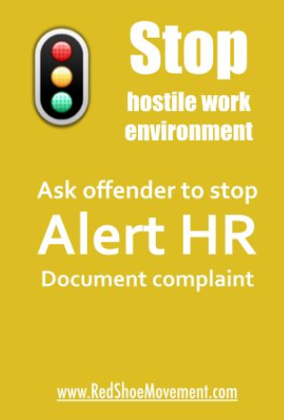 HOW SHOULD I DEAL WITH A HOSTILE WORK ENVIRONMENT?