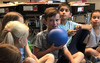 Q-Ball purchased for Marion Jordan Elementary students