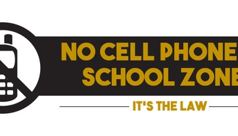 NO cell usage during drop off & dismissal
