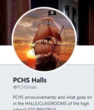 TWITTER: @PCHSHalls