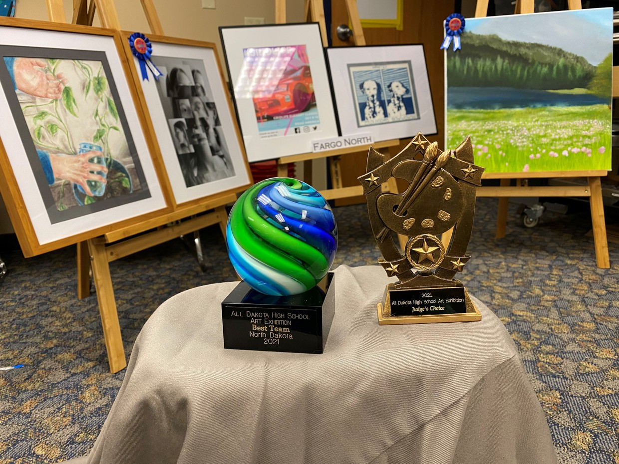 Art pictures and awards