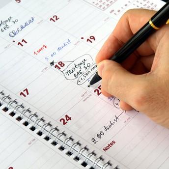 General Weekly Schedule