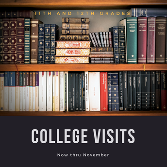 COLLEGE VISITS AT MT. LEBANON HIGH SCHOOL