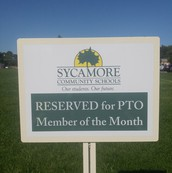 Reserved for a lucky PTO Member each month!