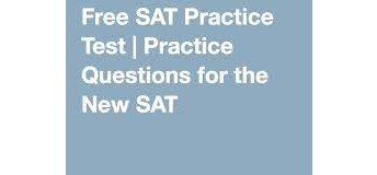 SAT Practice Test@ University of Maryland Computer Science Instructional Building-Room 2118