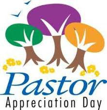 DATE CORRECTION FOR PASTOR APPRECIATION DAY: