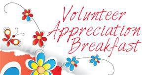 Volunteer Appreciation Breakfast, 5/3