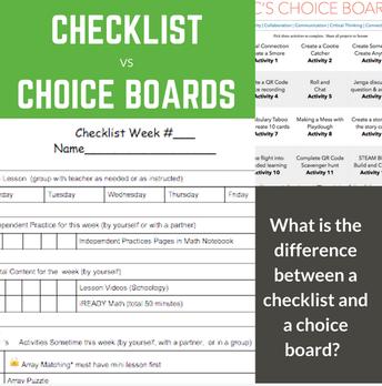 Checklist Examples