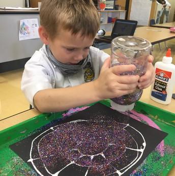 Making spiderwebs