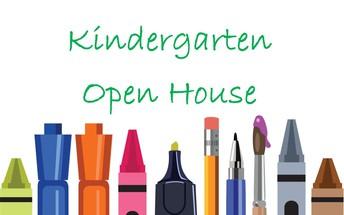 Kindergarten Open House!