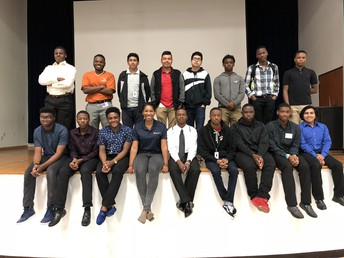 Hire Houston Youth Males Open Dialogue
