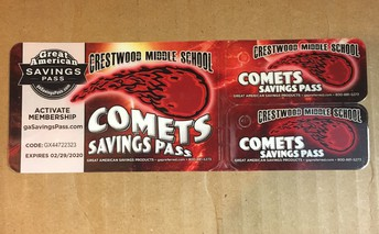 Comet Card's were delivered this week!