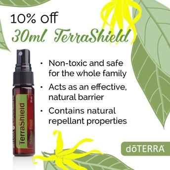 10% off TerraSheild