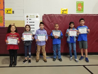 January Student Superheroes of the Month