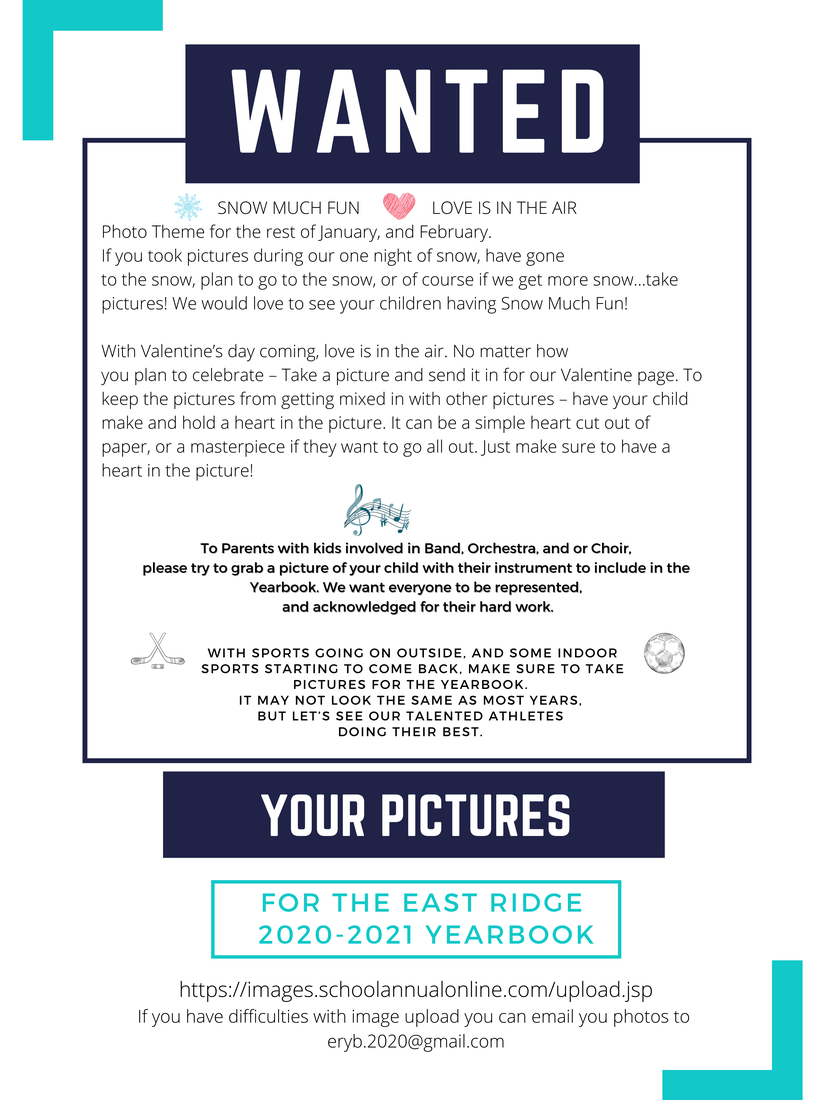 Wanted: your pictures for yearbook
