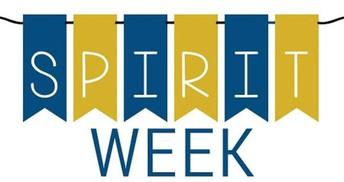 Spirit Week: February 16 through February 19
