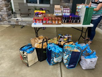Donation leads to food for kids out of school