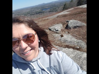 Mrs. Bubier (GCS) is taking hiking trips!