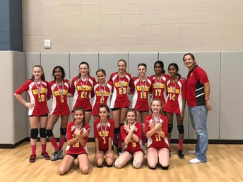 Great Job 7th grade volleyball
