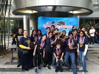 OSMS Science Olympiad Team Advances to Nationals