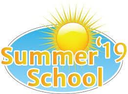 Summer School begins Monday, June 10, 2019