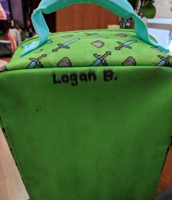Lost & Found: Minecraft lunch box