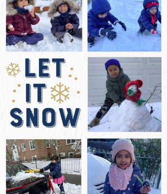 Our First Snow Day