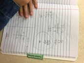 Students show their work and then must explain their thinking!
