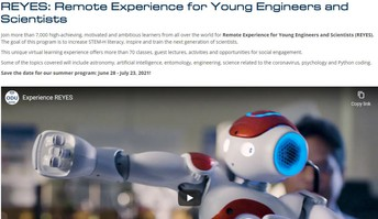 ODU - REYES:  Young Engineers and Scientists Summer Camp