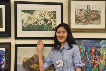 Student Artwork on Display at U.S. Capitol