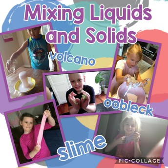Playing with substances and Slime!