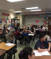 Active participants in Ms. Scheele's class