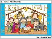 Chaplaincy team Advent calendar