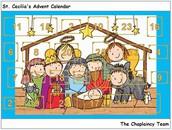 Chaplaincy team Advent calendar